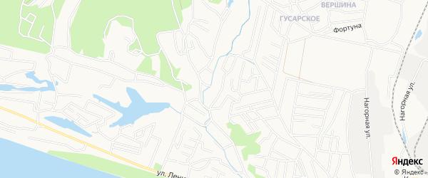 Южное СТ на карте Благовещенска с номерами домов