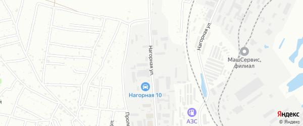 Нагорная улица на карте Благовещенска с номерами домов