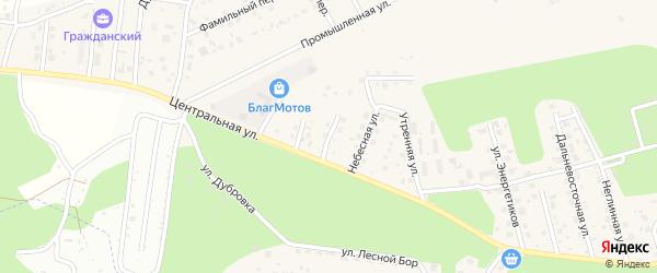 Изумрудная улица на карте села Чигири с номерами домов