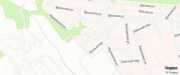 Кленовая улица на карте села Чигири с номерами домов