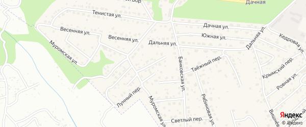 Софийский переулок на карте села Чигири с номерами домов