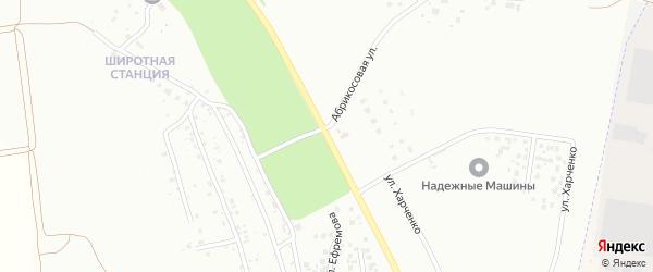 Игнатьевское шоссе на карте Благовещенска с номерами домов
