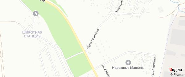 Абрикосовая улица на карте села Плодопитомника с номерами домов