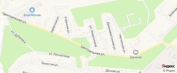 Смирновская улица на карте села Чигири с номерами домов
