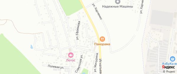 Панорамная улица на карте села Плодопитомника с номерами домов