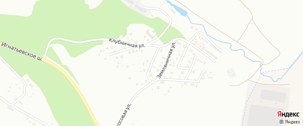 Смородиновый переулок на карте села Плодопитомника с номерами домов