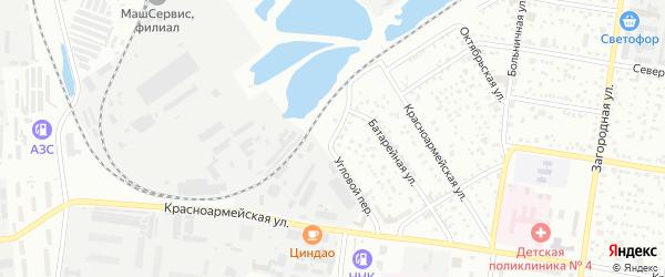 Железнодорожная улица на карте Благовещенска с номерами домов