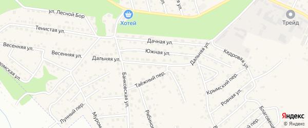 Дальняя улица на карте села Чигири с номерами домов