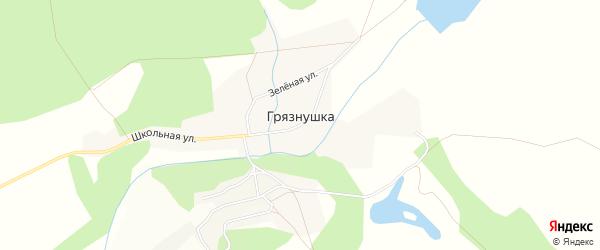 Карта села Грязнушки в Амурской области с улицами и номерами домов