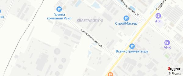 Энергетическая улица на карте Благовещенска с номерами домов
