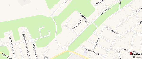 Семейный переулок на карте села Чигири с номерами домов