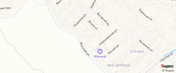 Улица Процветания на карте села Чигири с номерами домов