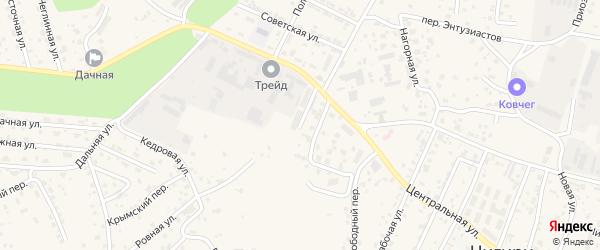 Улица Победы на карте села Чигири с номерами домов