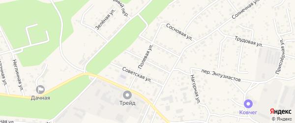 Пионерская улица на карте села Чигири с номерами домов