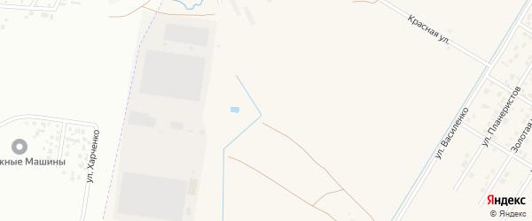 1-я Тепличная улица на карте села Чигири с номерами домов