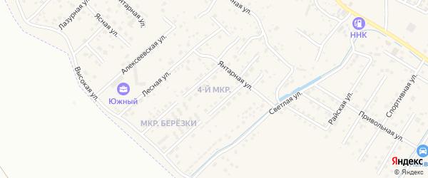 4-й микрорайон на карте села Чигири с номерами домов