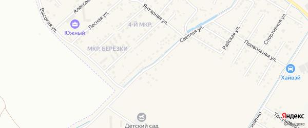 Светлая улица на карте села Чигири с номерами домов