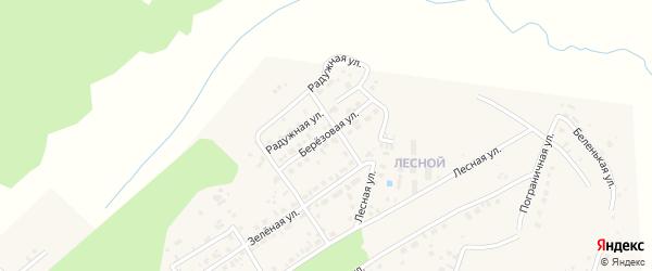 Березовая улица на карте села Чигири с номерами домов