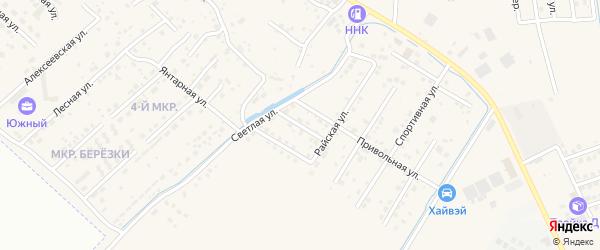 Русский переулок на карте села Чигири с номерами домов