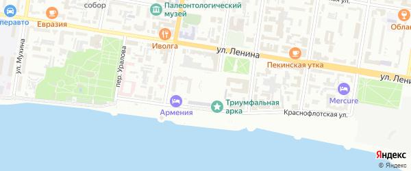 Площадь Победы на карте Благовещенска с номерами домов