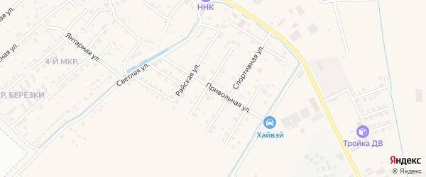 Привольная улица на карте села Чигири с номерами домов