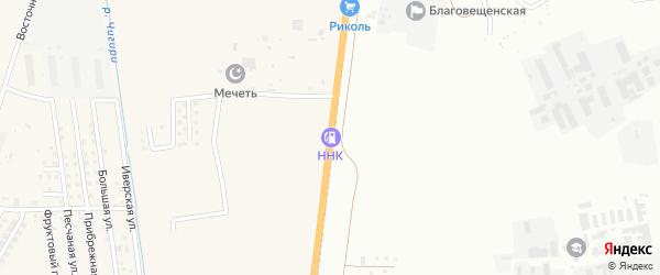 Новотроицкое шоссе на карте Благовещенска с номерами домов