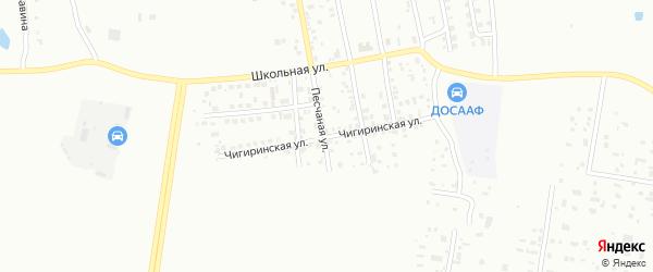 Чигиринская улица на карте Благовещенска с номерами домов