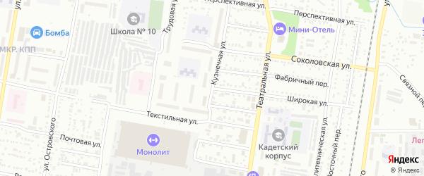 Широкая улица на карте Благовещенска с номерами домов