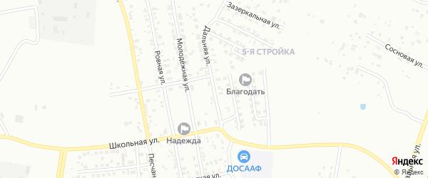 Дальняя улица на карте Благовещенска с номерами домов