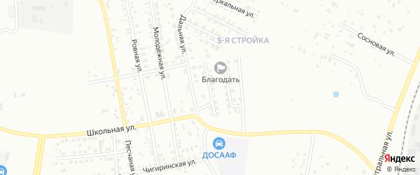 Переулок Энергетиков-1 на карте Благовещенска с номерами домов