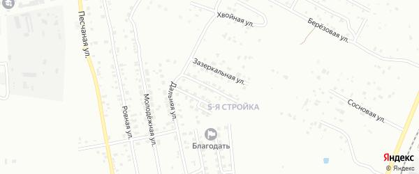 Переулок Дальний-2 на карте Благовещенска с номерами домов