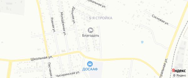 Переулок Энергетиков-2 на карте Благовещенска с номерами домов