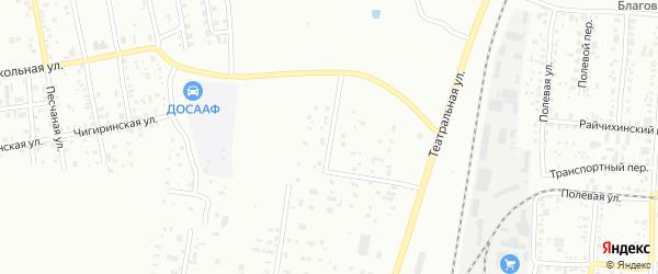 Улица Мостостроителей на карте Благовещенска с номерами домов