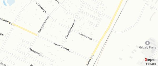 Степная улица на карте Благовещенска с номерами домов