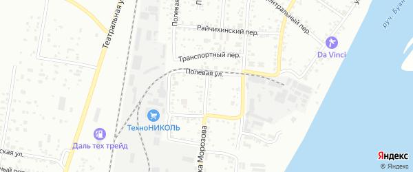 Улица П.Морозова на карте Благовещенска с номерами домов