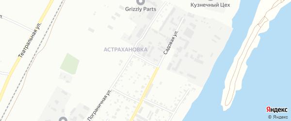 Матросский переулок на карте Благовещенска с номерами домов