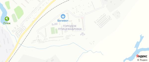 Завокзальная улица на карте поселка Моховой Пади с номерами домов