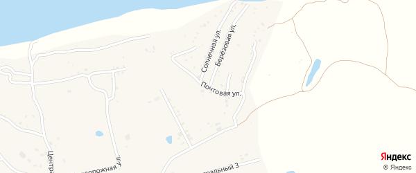 Почтовая улица на карте села Владимировки с номерами домов