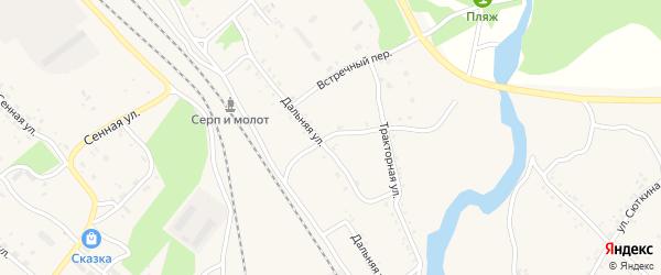 Улица МТС на карте Шимановска с номерами домов