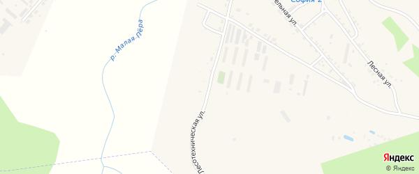 Лесотехническая улица на карте Шимановска с номерами домов