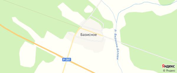Карта Базисного села в Амурской области с улицами и номерами домов