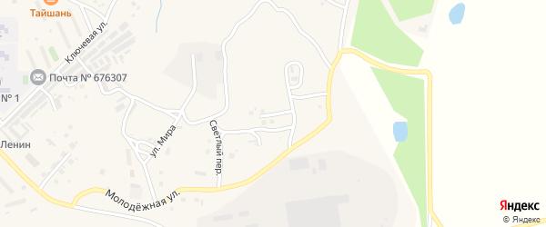 Киевская улица на карте Шимановска с номерами домов