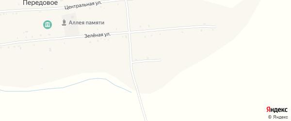Мостовая улица на карте Передового села с номерами домов