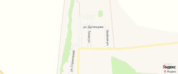 Мкр Зеленый остров Тихая улица на карте села Волково с номерами домов