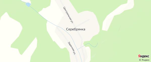 Карта села Серебрянки в Амурской области с улицами и номерами домов