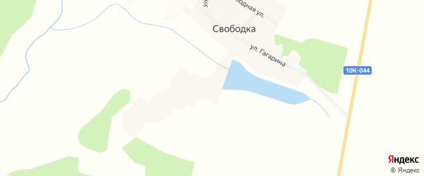 Карта села Свободки в Амурской области с улицами и номерами домов