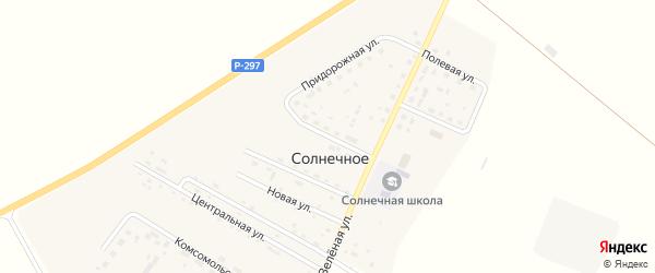 Советская улица на карте Солнечного села с номерами домов
