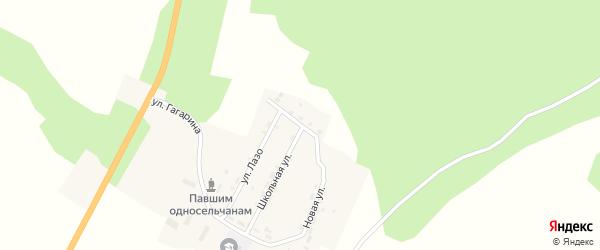 Молодежная улица на карте села Москвитино с номерами домов