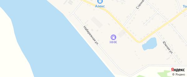 Набережная улица на карте села Константиновки с номерами домов