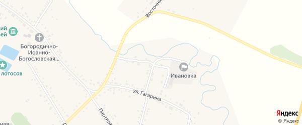 Подстанционная улица на карте села Ивановки с номерами домов